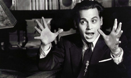 "Johnny Depp as Ed Wood: ""The big picture!"""