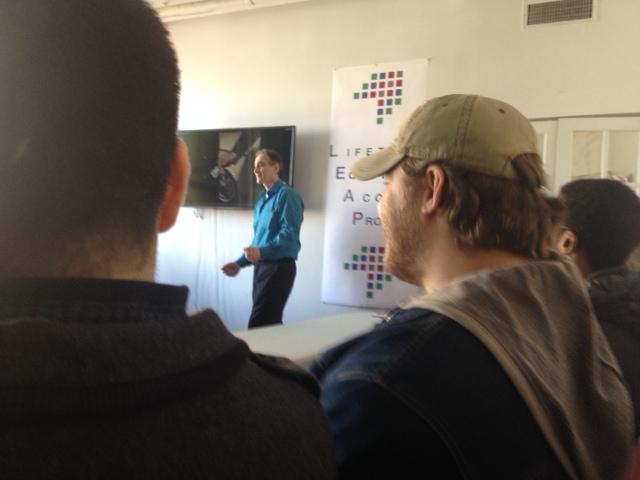 Patrick DiRenna teaches the DFA philosophy.
