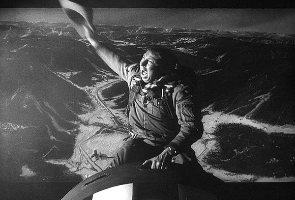 An iconic moment from Dr. Strangelove.