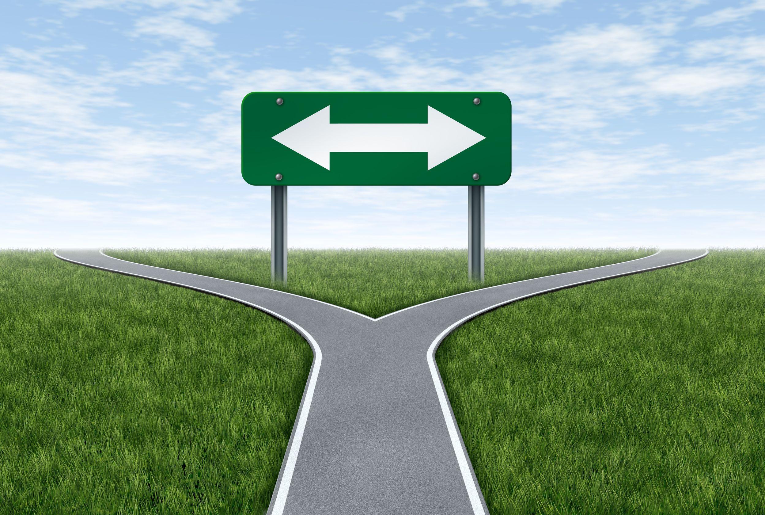 Go left. LEFT!