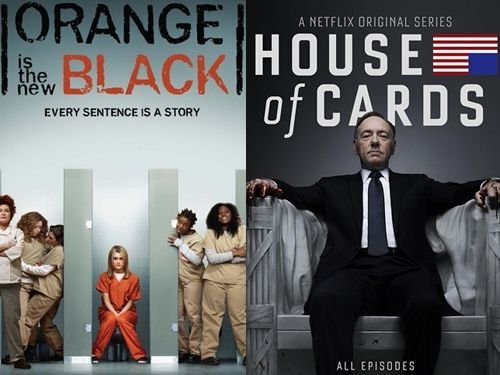 Netflix's has two hit series racking up nominations.