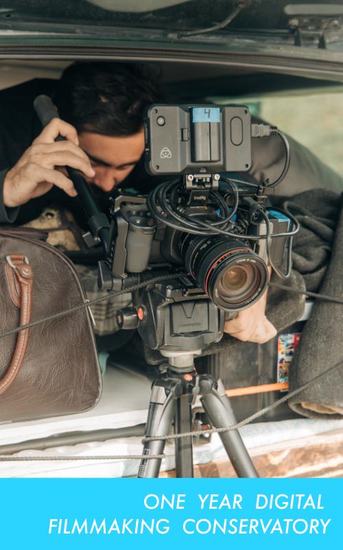 One year digital filmmaking conservatory